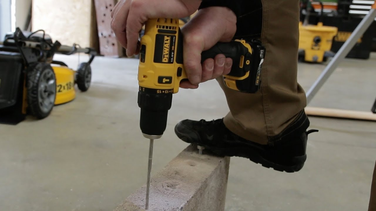 Dewalt DCD716 Sub Compact Hammer Drill Driver - for When You're on a Budget!