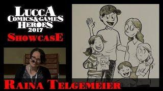 [Lucca Comics & Games] Showcase: Raina Telgemaier