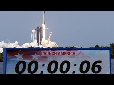 اطلاق تاريخي لصاروخ -سبايس إكس- بحضور الرئيس الأمريكي دونالد ترامب…  - نشر قبل 6 ساعة