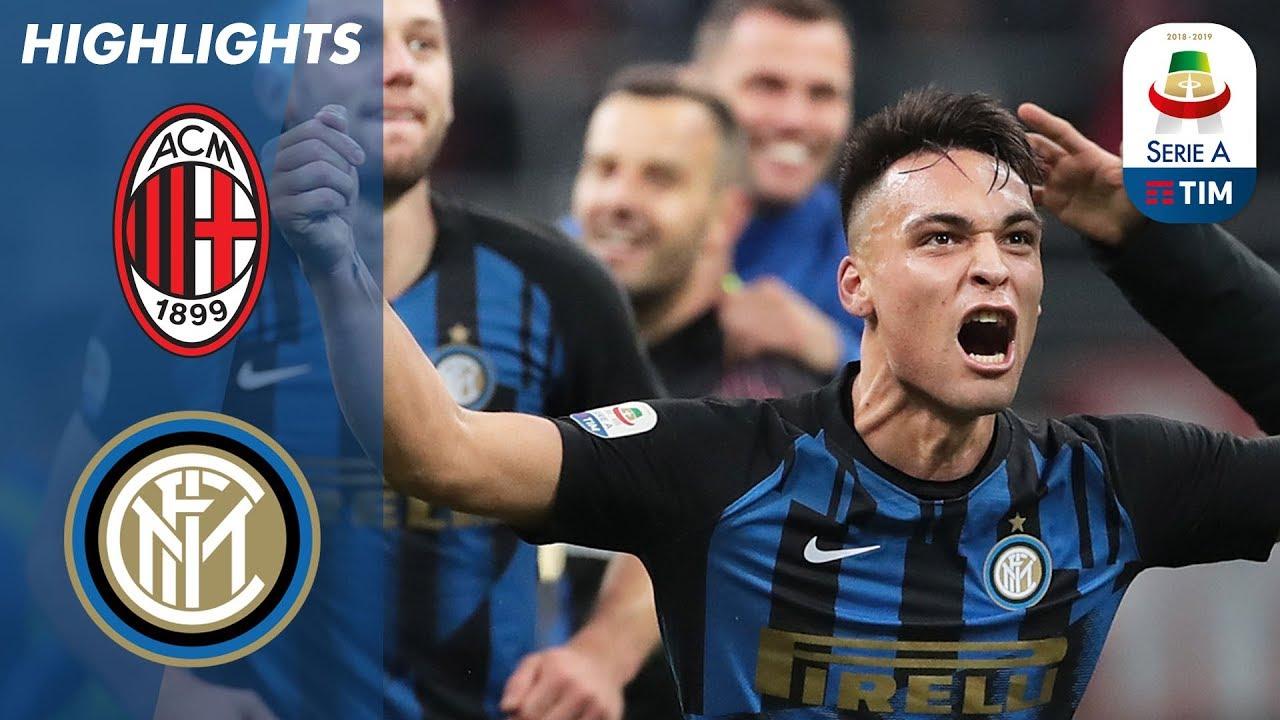 Download AC Milan 2-3 Inter | Intense Milan Derby sees Inter edge AC Milan | Serie A
