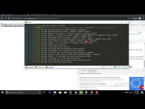 Advance Sqlmap Os Shell + Upload File