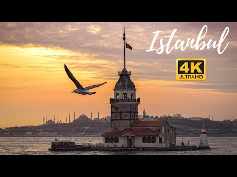 ISTANBUL - Turkey [4K] (Cinematic Video) - The most beautiful images of Istanbul