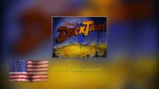 DuckTales intro in 14 languages, with lyrics.