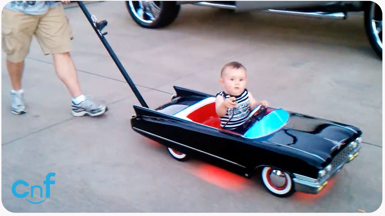 Hot Rod Baby Lowrider Stroller Taking A Cruise Youtube