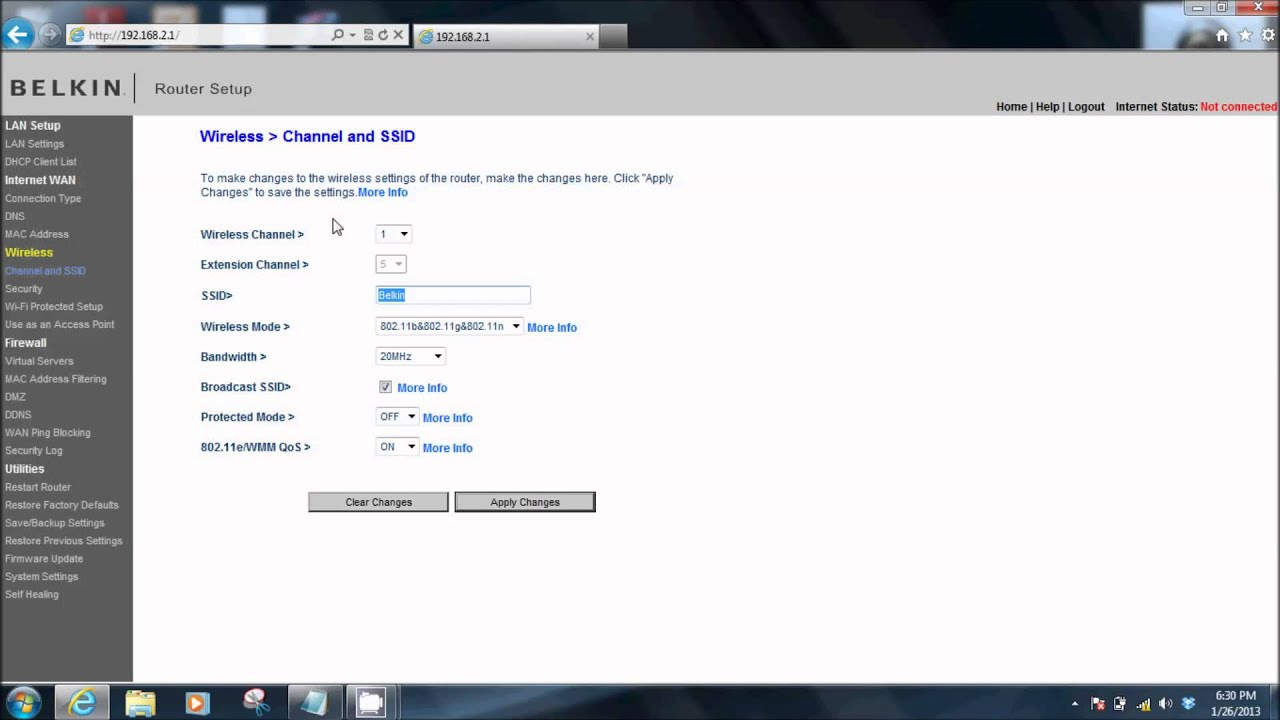 Networking Tutorial 2 of 4 - Rename Your Wireless Network