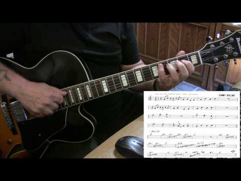 St Thomas - guitar jazz cover - Yvan Jacques