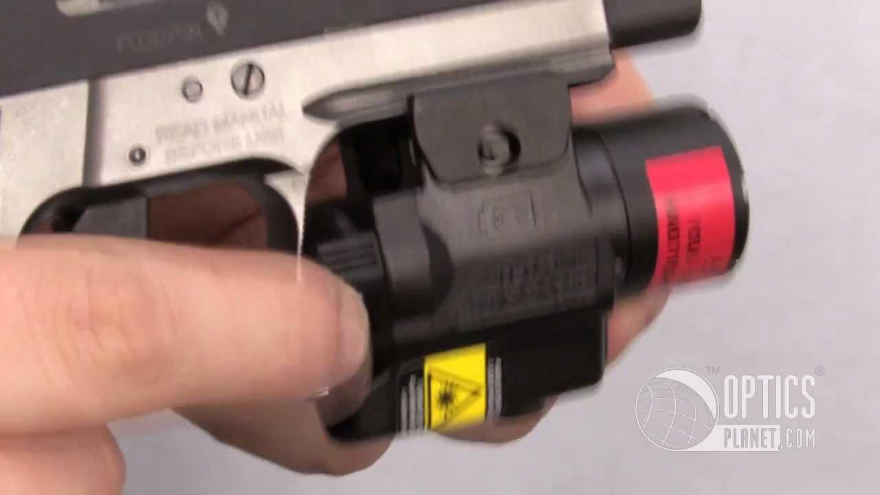 Streamlight TLR-4 Compact Handgun Laser Sight Flashlight - OpticsPlanet com