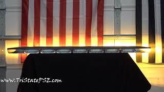 SoundOff Signal nRoads Fleet DUAL Color Light Bar (overview)