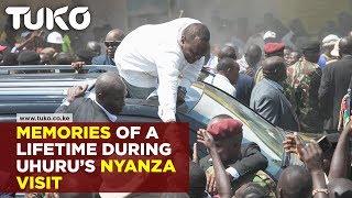 Memorable moments during Uhuru