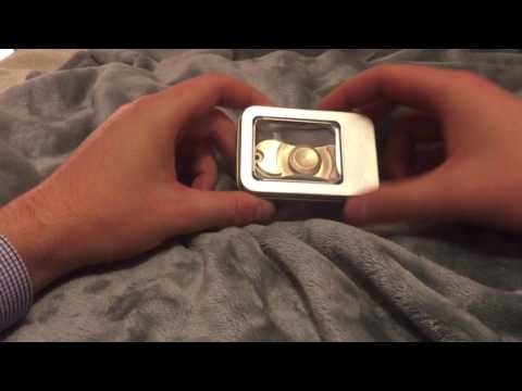 SOLID BRASS FIDGET SPINNER UNBOXING! FASTEST SPINNER EVER MADE! VIP ROULETTE SYSTEM