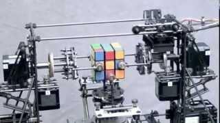 ماكينة لحل المكعب السحري