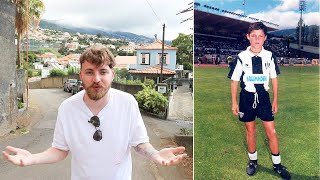 Hier ist Cristiano Ronaldo aufgewachsen + CR7 erster Verein - Madeira 🇵🇹   ViscaBarca