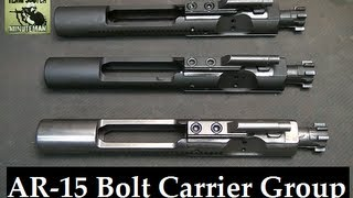 How to I.D. AR 15, M16 & Mil Spec Bolt Carrier Groups thumbnail