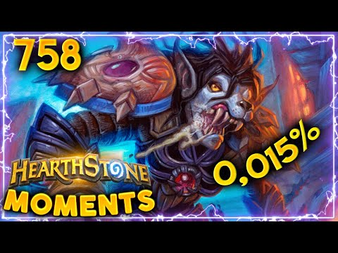 The 0,015% Lethal!! | Hearthstone Daily Moments Ep.758