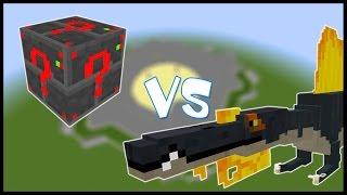 Электрический Лаки Блок VS Спинозавр - Лаки Битва #8