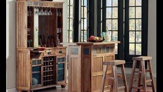Sedona / Santa Fe Bar and Back Bar Server by Sunny Designs