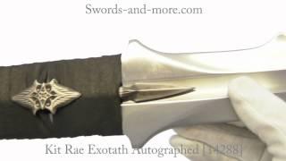 Kit Rae Exotath Autographed [14288]