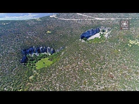 Βιντεο απο drone ...με τους «εξωγήινους» κρατήρες στην Αργολίδα