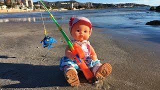 la bebe nenuco se va a la playa a pescar captulo 30 de las aventuras de la bebe