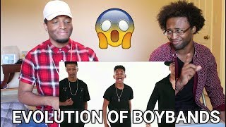 Evolution of Boybands - Next Town Down (REACTION)