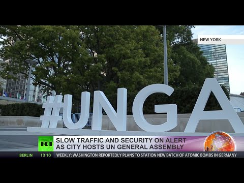 Slow traffic, heavy security: How NYC copes when UN gets together