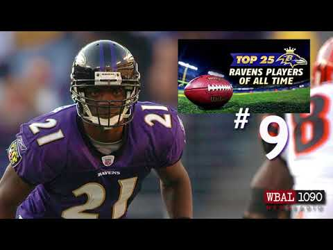 The Top 25 Ravens Players Of All Time #9 Chris McAlister