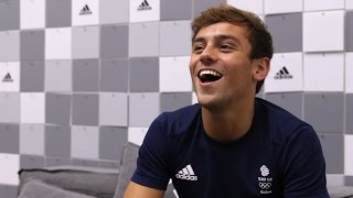 Interview With Tom Daley Following His Olympic 10m Diving Heartbreak