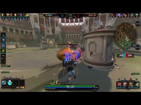 Ares aura damage defense build! Blink Finale