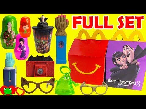 2018 Hotel Transylvania 3 McDonald's Happy Meal Toys