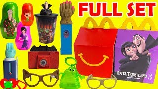 2018 Hotel Transylvania 3 McDonald's Happy Meal Toys