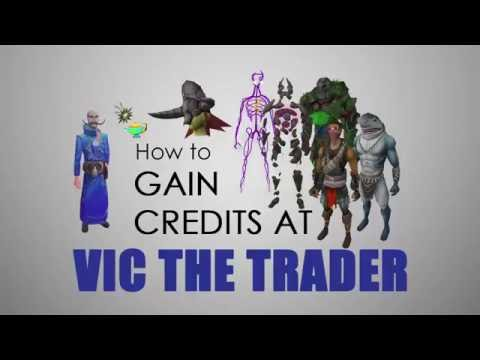 VIC THE TRADER GUIDE - How to gain credits