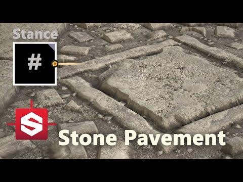 Stone Pavement - Substance Designer Material Breakdown