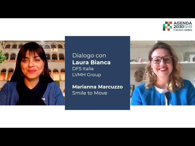 Dialogo con Laura Bianca di DFS Italia LVMH Group - Agenda 2030