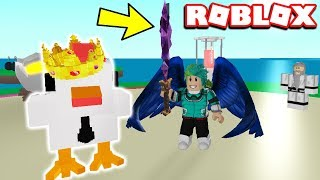 FIGHTING THE CHICKEN BOSS, OPENING EPIC BOXES & HIRING BEOWULF | Roblox Egg Farm Simulator