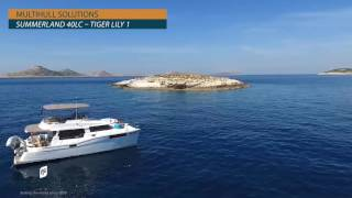2015 Fountaine Pajot Motor Yachts Summerland 40 LC power catamaran for sale -