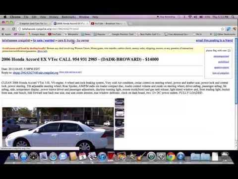 Tallahassee Craigslist Cars And Trucks