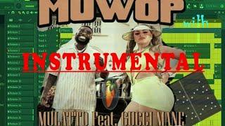 Mulatto - Muwop Instrumental (ft. Gucci Mane )