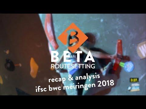 IFSC Boulder Worldcup 2018 // Meiringen Women Final Report Recap & Analysis