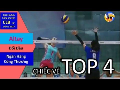 Ngân Hàng Công Thương vs Altay Kazakhstan || Quarter Final || AVC 2017 ASIAN WOMEN'S CLUB VOLLEYBALL