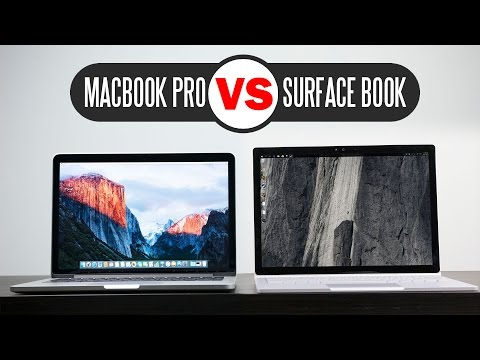 "Microsoft Surface Book vs 2015 13.3"" Macbook Pro Retina - Which One is better?"