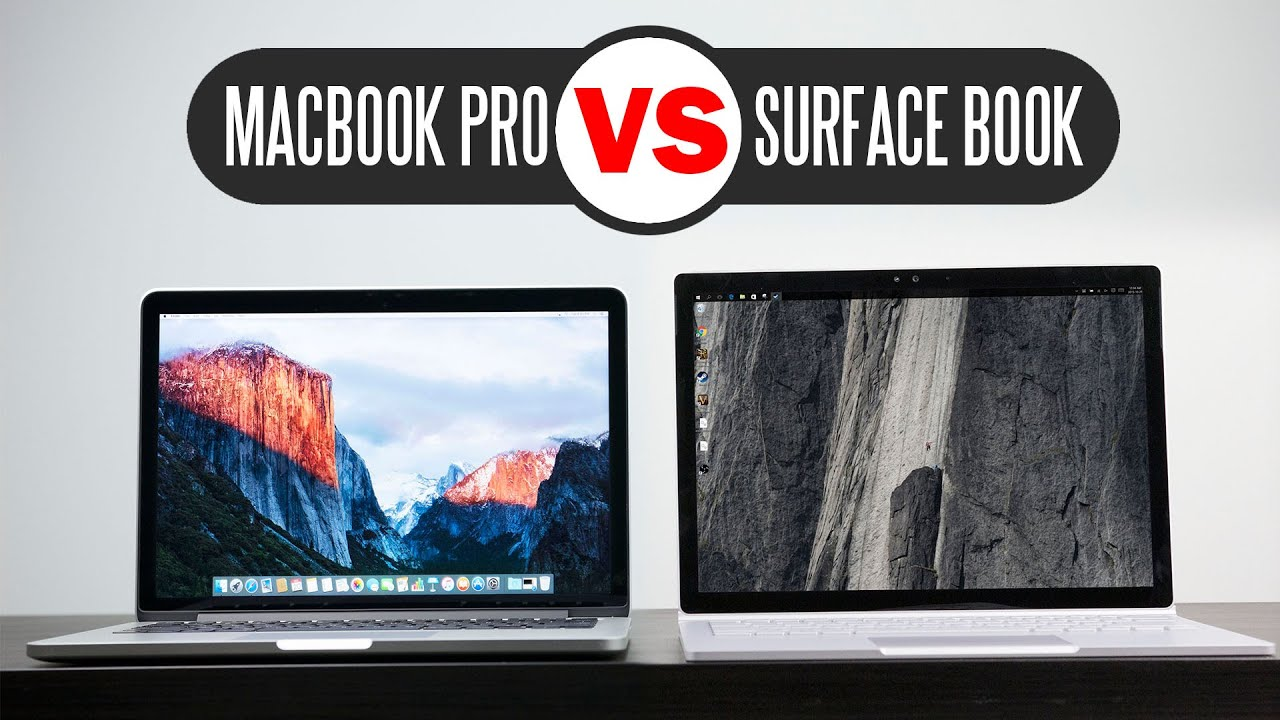 Perfect surfaces product display - Microsoft Surface Book Vs 2015 13 3 Macbook Pro Retina Which One Is Better Youtube