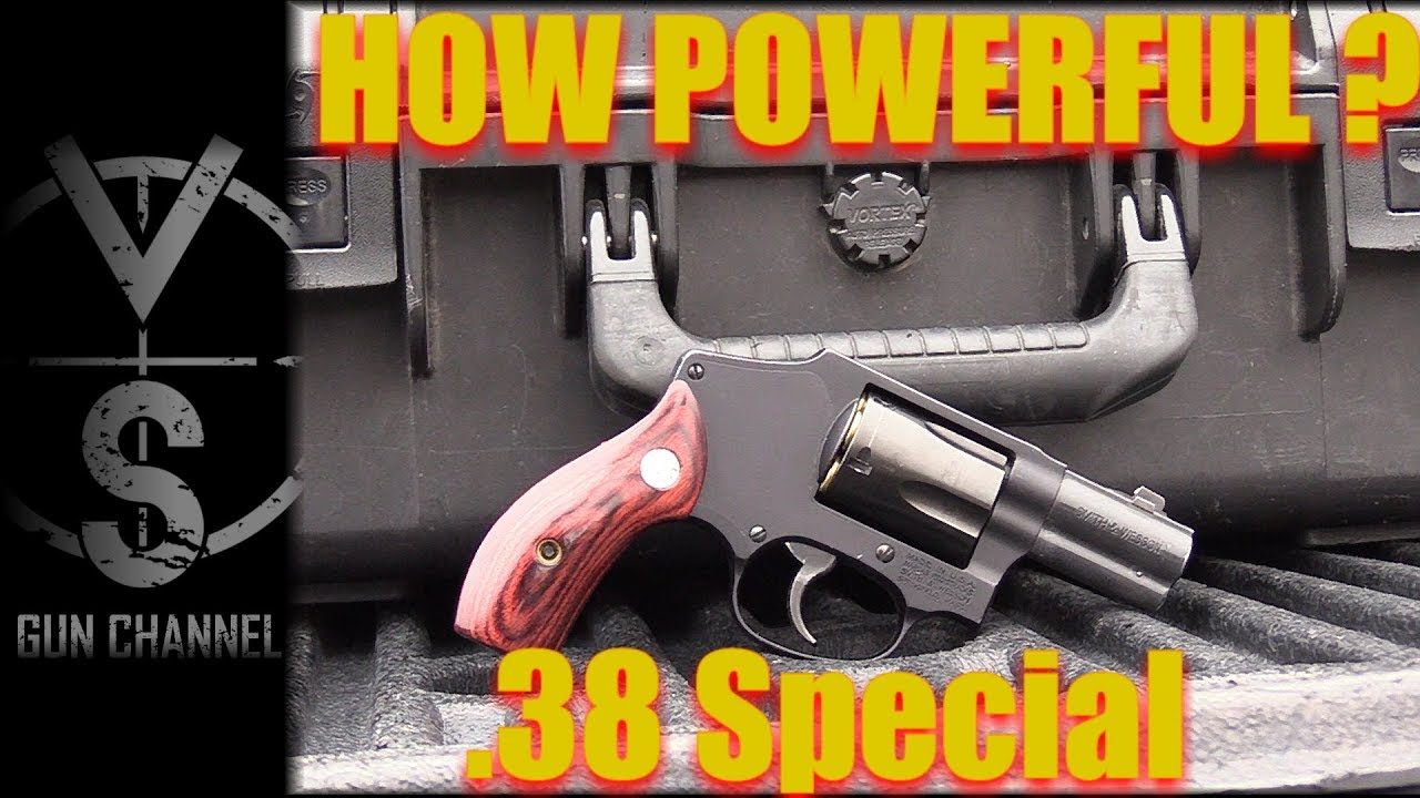 How Powerful is IT? .38 Special Revolver (S&W J-Frame) - YouTube