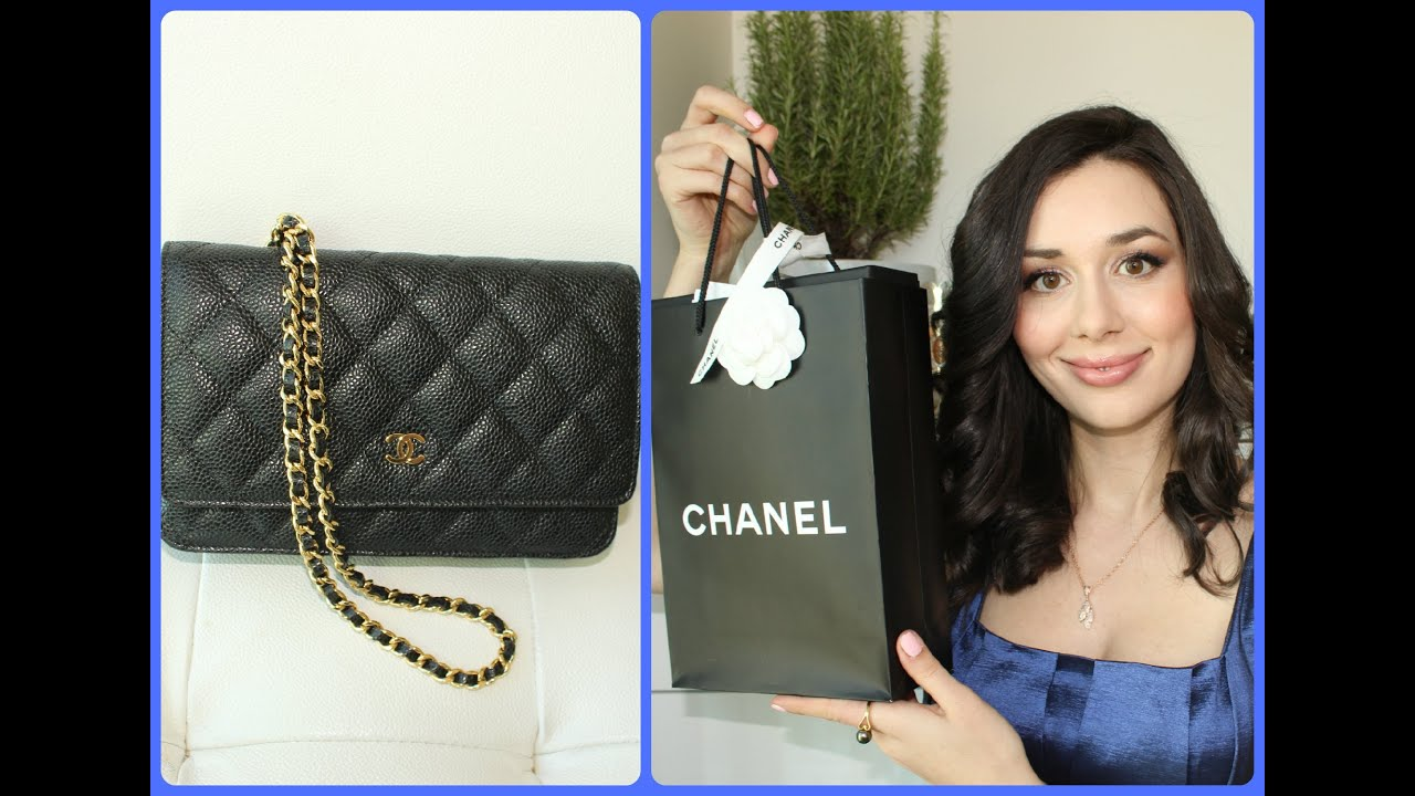 417afdd626fb Chanel Wallet On Chain Haul and Unboxing - YouTube