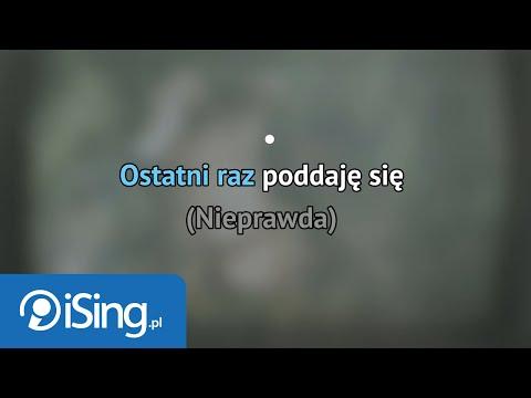 Ania Dąbrowska - Nieprawda (karaoke iSing)