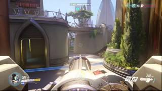 Overwatch   Bastion Gameplay on Fire