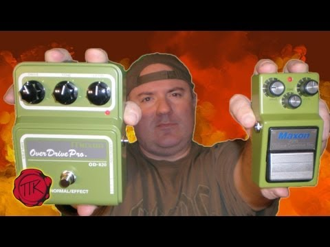 MAXON SHOOT-OUT : TUBE SCREAMER HERITAGE: VOP-9 and OD-820 - 3P3D 2011