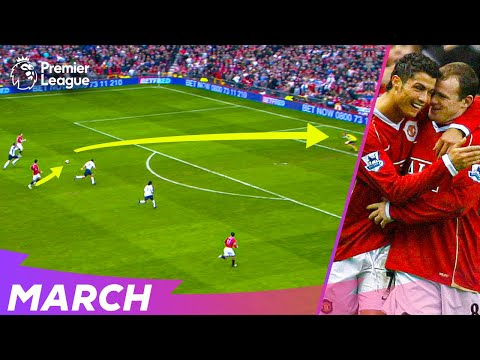 STUNNING Cristiano Ronaldo & Wayne Rooney counter-attacking goal | Best Premier League goals | March