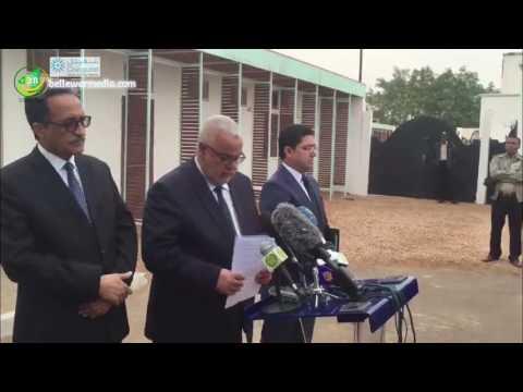 تصريح رئيس الوزراء المغربي بن كيران من موريتانيا
