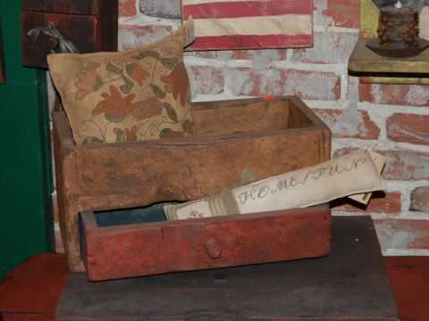Primitive Colonial Early American Reproduction Furniture