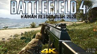 Battlefield 4 Multiplayer 2020 Hainan Resort Rush Win 4K
